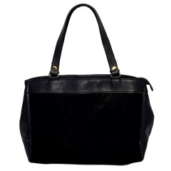 Black Perfect Stitch Office Handbags by MRTACPANS