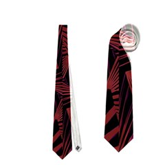 Sharp Tribal Pattern Neckties (two Side)  by dflcprints