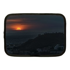 Sunset Scene Landscape Aerial View In Guayaquil From Cerro Del Carmen Netbook Case (medium)  by dflcprints