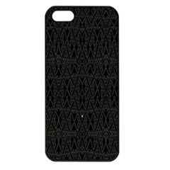 Perfect Cat Apple Iphone 5 Seamless Case (black) by MRTACPANS