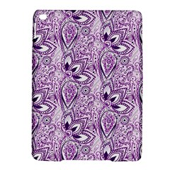 Purple Paisley Doodle Ipad Air 2 Hardshell Cases by KirstenStar
