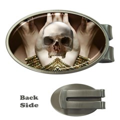 Skull Magic Money Clips (oval)  by icarusismartdesigns