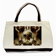 Skull Magic Basic Tote Bag (two Sides) by icarusismartdesigns