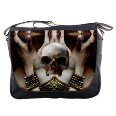 Skull Magic Messenger Bags by icarusismartdesigns