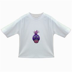 Funny Fruit Face Head Character Infant/toddler T-shirts by dflcprints
