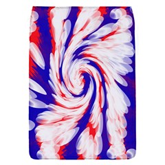 Groovy Red White Blue Swirl Flap Covers (s)  by BrightVibesDesign