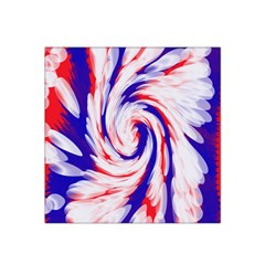 Groovy Red White Blue Swirl Satin Bandana Scarf by BrightVibesDesign