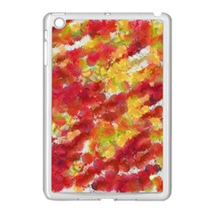Colorful Splatters                                      			apple Ipad Mini Case (white) by LalyLauraFLM