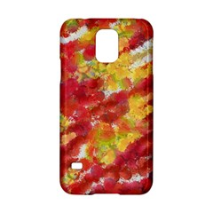 Colorful Splatters                                      			samsung Galaxy S5 Hardshell Case by LalyLauraFLM