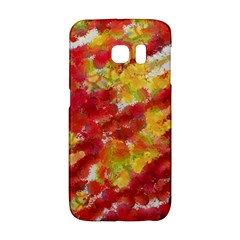 Colorful Splatters                                      			samsung Galaxy S6 Edge Hardshell Case by LalyLauraFLM