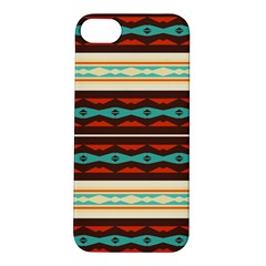 Stripes And Rhombus Chains                                      			apple Iphone 5s Hardshell Case by LalyLauraFLM