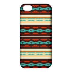 Stripes And Rhombus Chains                                      			apple Iphone 5c Hardshell Case by LalyLauraFLM