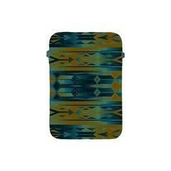 Blue Green Gradient Shapes                                       			apple Ipad Mini Protective Soft Case