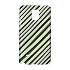 Diagonal Stripes Samsung Galaxy Note 4 Hardshell Case by dflcprints