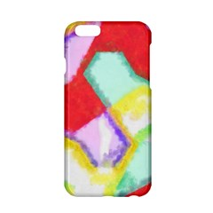 Watercolors Shapes                                         			apple Iphone 6/6s Hardshell Case by LalyLauraFLM
