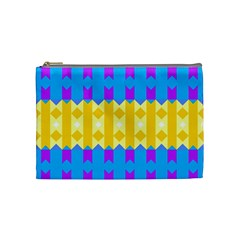Rhombus And Other Shapes Pattern                                          Cosmetic Bag by LalyLauraFLM