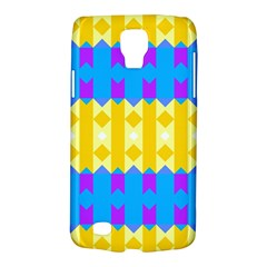 Rhombus And Other Shapes Pattern                                          			samsung Galaxy S4 Active (i9295) Hardshell Case by LalyLauraFLM