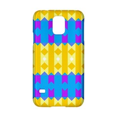Rhombus And Other Shapes Pattern                                          			samsung Galaxy S5 Hardshell Case by LalyLauraFLM