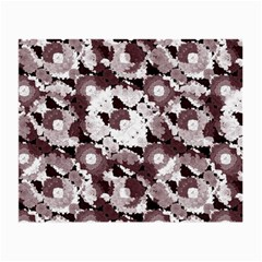 Ornate Modern Floral Small Glasses Cloth (2-side) by dflcprints