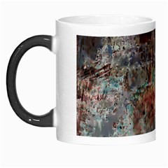 Metallic Copper Patina Urban Grunge Texture Morph Mug by CrypticFragmentsDesign