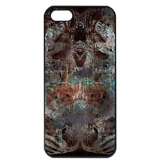 Metallic Copper Patina Urban Grunge Texture Apple Iphone 5 Seamless Case (black) by CrypticFragmentsDesign