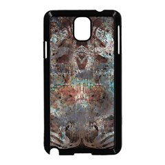 Metallic Copper Patina Urban Grunge Texture Samsung Galaxy Note 3 Neo Hardshell Case (black) by CrypticFragmentsDesign