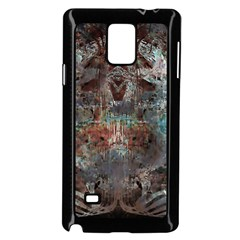 Metallic Copper Patina Urban Grunge Texture Samsung Galaxy Note 4 Case (black) by CrypticFragmentsDesign