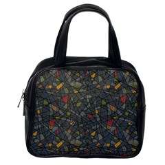 Abstract Reg Classic Handbags (one Side) by FunkyPatterns