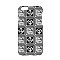 Black And White Apple Iphone 6/6s Hardshell Case by FunkyPatterns
