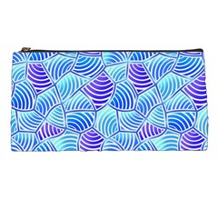 Blue And Purple Glowing Pencil Cases