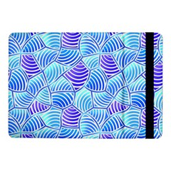 Blue And Purple Glowing Samsung Galaxy Tab Pro 10 1  Flip Case by FunkyPatterns