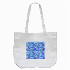 Blue And Purple Glowing Tote Bag (white)