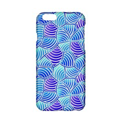 Blue And Purple Glowing Apple Iphone 6/6s Hardshell Case by FunkyPatterns
