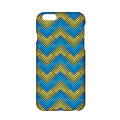 Blue And Yellow Apple Iphone 6/6s Hardshell Case by FunkyPatterns