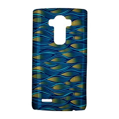 Blue Waves Lg G4 Hardshell Case by FunkyPatterns