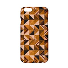 Brown Tiles Apple Iphone 6/6s Hardshell Case by FunkyPatterns