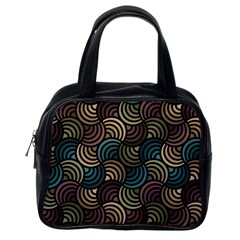 Glowing Abstract Classic Handbags (one Side) by FunkyPatterns