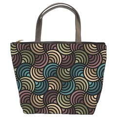 Glowing Abstract Bucket Bags by FunkyPatterns
