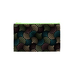 Glowing Abstract Cosmetic Bag (xs) by FunkyPatterns