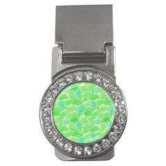 Green Glowing Money Clips (cz)