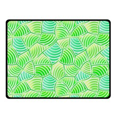 Green Glowing Fleece Blanket (small) by FunkyPatterns