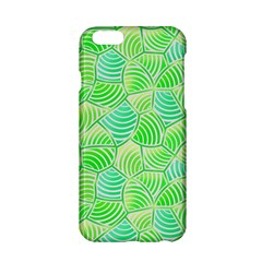 Green Glowing Apple Iphone 6/6s Hardshell Case by FunkyPatterns