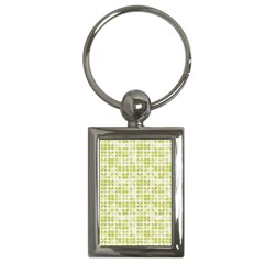 Pastel Green Key Chains (rectangle)  by FunkyPatterns