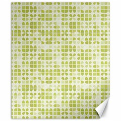 Pastel Green Canvas 8  X 10  by FunkyPatterns