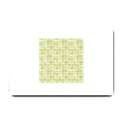 Pastel Green Small Doormat  by FunkyPatterns
