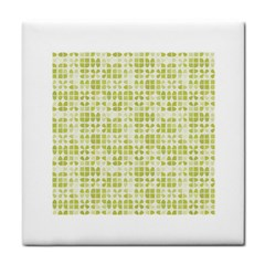 Pastel Green Face Towel by FunkyPatterns