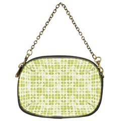 Pastel Green Chain Purses (one Side)  by FunkyPatterns