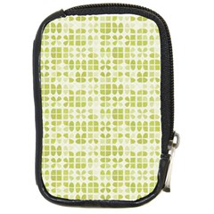 Pastel Green Compact Camera Cases by FunkyPatterns