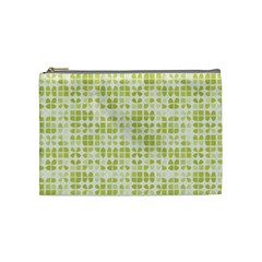 Pastel Green Cosmetic Bag (medium)  by FunkyPatterns