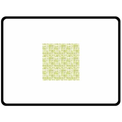 Pastel Green Fleece Blanket (large)  by FunkyPatterns